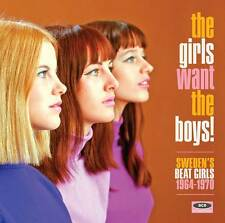 Various Artists - The Girls Want The Boys! Sweden's Beat Girls 1964-1970