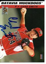 Chad Smith 2016 Batavia Muckdogs Signed Card