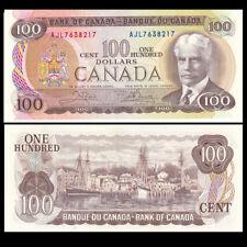 Canada 100 Dollars, 1975, P-91, UNC