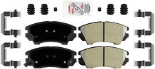 Disc Brake Pad Set-AmeriPlatinum Metallic with Hardware Front Autopartsource