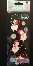 """A Touch of Jolee's """"Think Snow"""" Dimensional Stickers"""