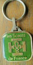 porte clés ancien scouts de France Decat Paris