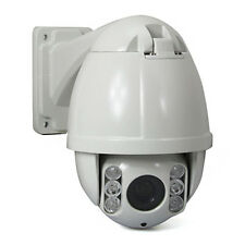 "IP66 700TVL 5.1mm-51mm 10X ZOOM CCTV Security PTZ Camera 4"" MINI 6pcs Leds"