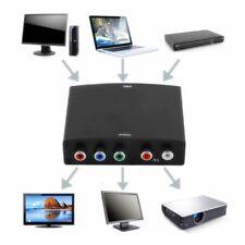 4K HDMI to 5RCA RGB Component YPbPr Video +R/L Audio Adapter Converter 2X