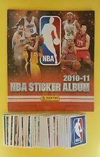 Panini NBA 2010-11 Basketball Album + Set stickers - basketballs