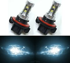 LED 50W 9008 H13 White 6000K Two Bulbs Head Light Show Use DRL Off Road Fit