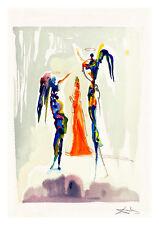 Divine Comedy Paradise 27 by Salvador Dali A4 Art Print