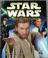 Star Wars Attack Of The Clones Character & Equipment Data File Facts magazine