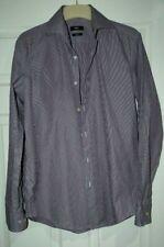 "Men's Hugo Boss Slim Fit Two Ply Shirt collar size 39cm / 15.5"""