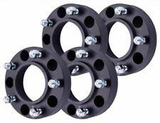 "4 QTY 1.25""  Black Wheel Spacers for Toyota Tundra Sequoia Land Cruiser Lexus LX"