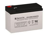 12V 9AH SLA Battery Replacement for APC BACK-UPS ES BE750G by SigmasTek