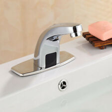 AS Automatic Electronic Sensor Free Touch-less Faucet Hands Bathroom Basin Taps