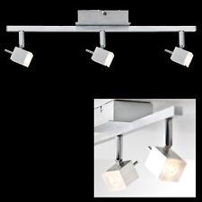 Quadro LED 3x3W Deckenleuchte ALU gebürstet Stangen Leuchte Strahler Paulmann