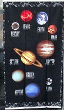 "1 Great ""Cosmic Space"" Cotton Fabric Quilting/Wallhanging Sewing Panel"