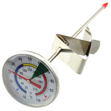 FROTHY MILK THERMOMETER TO MAKE PROFESSIONAL LATTE CAPPUCCINO COFFEE IN-059