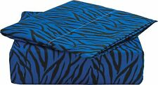 820 SAFARI COLLECTION DEEP POCKET 4 PIECE BED SHEET SET BY CLARA CLARK All Sizes