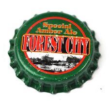 Forest City Spécial Ambre Ale Bière Capsules USA Soda Bouteille Casquette