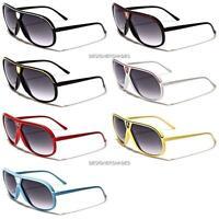 Khan Designer Sunglasses Large 100%UV Aviator Mens Womens Ladies Unisex KN8542