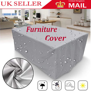 Garden Heavy Duty Waterproof Patio Furniture Cover for Outdoor Rattan Table Cube
