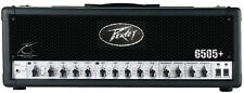 Peavey 6505 Plus Electric Guitar Amplifier 120 Watt Speaker Amp Head 3 Band EQ