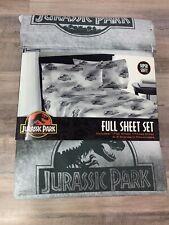 Jurassic Park World Full Sheet Set 4 Piece Dino Earthquake Bed Sheets