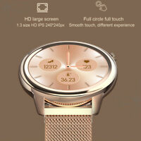 2020 Women Waterproof Smart Watch Heart Rate Blood Pressure Monitor Sport Watch