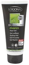 Logona mann Haargel 100ml mit Bio Ginkgo & Coffein, vegane Naturkosmetik