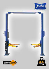 2 POST CAR HOIST. CLEAR FLOOR. 4.5T 4500 KGS. 240V