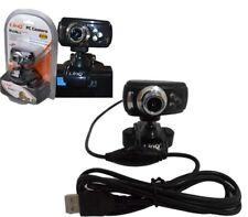 Linq Web Cam Usb Con Microfono Incorporato Mega Pixel C2018 Classe Energetica A+