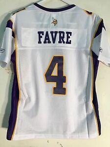 Reebok Women's Premier NFL Jersey Minnesota Vikings Brett  Favre  White sz 2X
