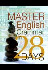 "English Language Book ""Master English Grammar in 28 Days"" IELTS ESL TOEFL LET"