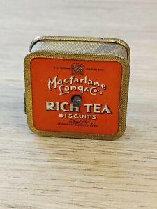 """Vintage MacFarlane's Lang & Co Rich Tea Biscuits sewing Tape Measure 40"""""""