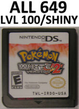 Pokemon White Version 2 Game Unlocked All 649 Event Shiny DS Lite DSi 2DS 3DS XL