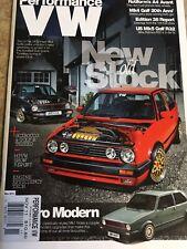 Performance VW Magazine November 2011 PVW VW GTI VR6 1.8T Mk4 Mk1