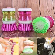 Kitchen Wash Washing Tool Pot Pan Dish Bowl Palm Brush Scrubber Cleaning Cle.p