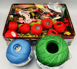 EMBROIDERY Thread Huge Assortment Great Variety of Colors 95 Pieces New DMC