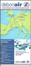 Debonair system timetable c 1997 [8081]
