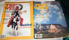 2 True West Magazines-February 1992, May 1992-Deadman's Fork, Yellowstone Cany