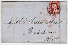 #11A - 3 Cent 1851-7, Medium to Deep Experimental Orange Brown, Boston FEB 1852