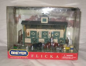Breyer horse mini Whinnies Flicka goose creek set 2006