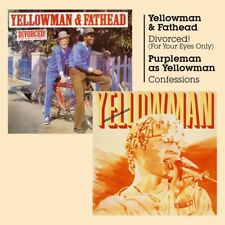 Yellowman & Fathead(CD Album)Divorced! + Confessions-Burning Sounds-BSR-New