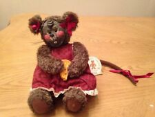 Mrs. Nibbles Mouse Gund Barton's Creek Collection Cheese Box Limited Edition