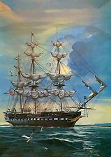 "U.S.FRIGATE CONSTITUTION,""OLD IRONSIDES"", 1/196, REVELL KIT H-329, MIB 1969"