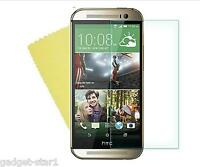 HQ CRYSTAL CLEAR SCREEN PROTECTOR COVER SAVER LCD GUARD FILM FOR NEW HTC ONE M8