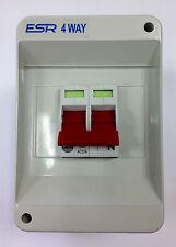 Wylex 100a DP Isolator Ref: WS102/ESR