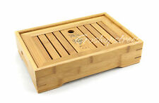 Graceful Cute Bamboo Chinese Gongfu Tea Table Serving tray 27*18.5cm L04S