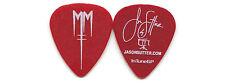 MARILYN MANSON 2012 Cruel Tour Guitar Pick JASON SUTTER custom concert stage #3