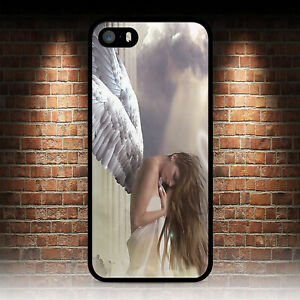 ANGEL GIRL 1 PHONE CASE FOR IPHONE 4 4S 5 5S SE 5C 6 6S 7 8 PLUS X XR MAX 11 PRO