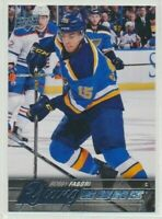 2015-16 Upper Deck Series 1 Young Guns Rookie 229 Robby Fabbri