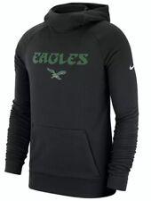 Nike Men's Philadelphia Eagles Lightweight Historical Hoodie Sweatshirt XL NFL